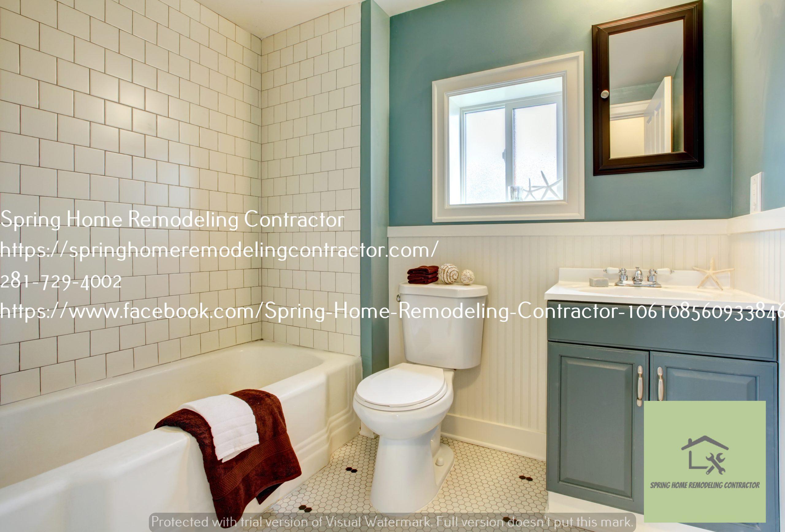 Bathroom Remodeling Spring TX